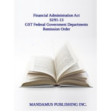 GST Federal Government Departments Remission Order