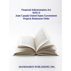 Joint Canada-United States Government Projects Remission Order