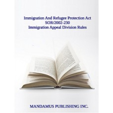 Immigration Appeal Division Rules