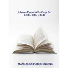 Advance Payments For Crops Act