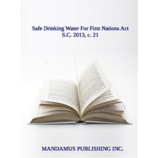 Safe Drinking Water For First Nations Act