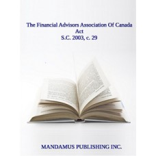 The Financial Advisors Association Of Canada Act