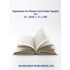 Department For Women And Gender Equality Act