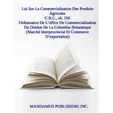 Ordonnance De L'office De Commercialisation Du Dindon De La Colombie-Britannique (Marché Interprovincial Et Commerce D'exportation)