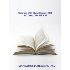 Ontarians With Disabilities Act, 2001