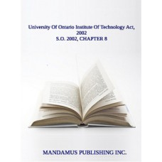 University Of Ontario Institute Of Technology Act, 2002
