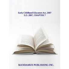 Early Childhood Educators Act, 2007
