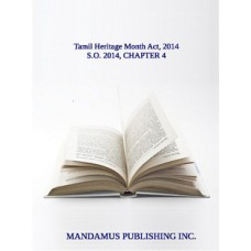 Tamil Heritage Month Act, 2014