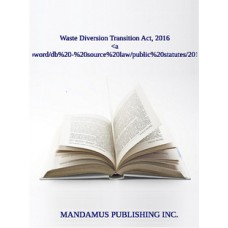 Waste Diversion Transition Act, 2016
