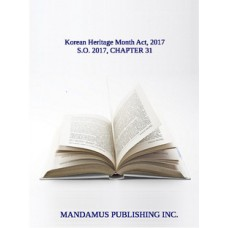 Korean Heritage Month Act, 2017