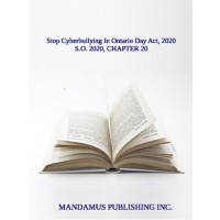 Stop Cyberbullying In Ontario Day Act, 2020