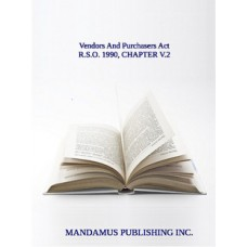 Vendors And Purchasers Act
