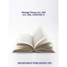 Massage Therapy Act, 1991