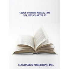 Capital Investment Plan Act, 1993