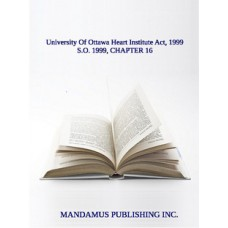 University Of Ottawa Heart Institute Act, 1999
