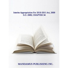 Interim Appropriation For 2010-2011 Act, 2009