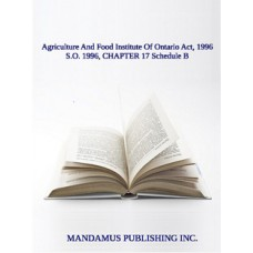 Agriculture And Food Institute Of Ontario Act, 1996